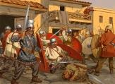Romans vs Franks